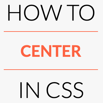 How to Center in CSS logo