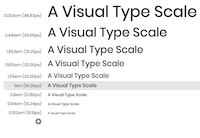 Type Scale logo